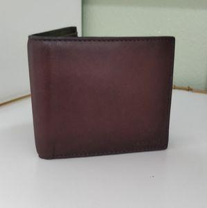 Coach men Leather Wallet